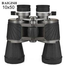 Eyepiece Telescope Baigish 10x50 Powerful Binoculars Hunting-Optics Professional Military