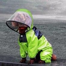 Jacket Raincoat Windbreaker Puppy Pet-Dog Dogs Waterproof for Small Medium Teddy HPC11