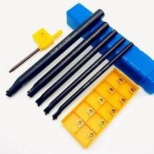 5 шт. S06K-SCLCR06 S06K/S07K/S08K/S10K/S12M 95 градусов спиральный токарный инструмент держатель расточной стержень+ 10 шт. CCMT060204 карбидный инструмент