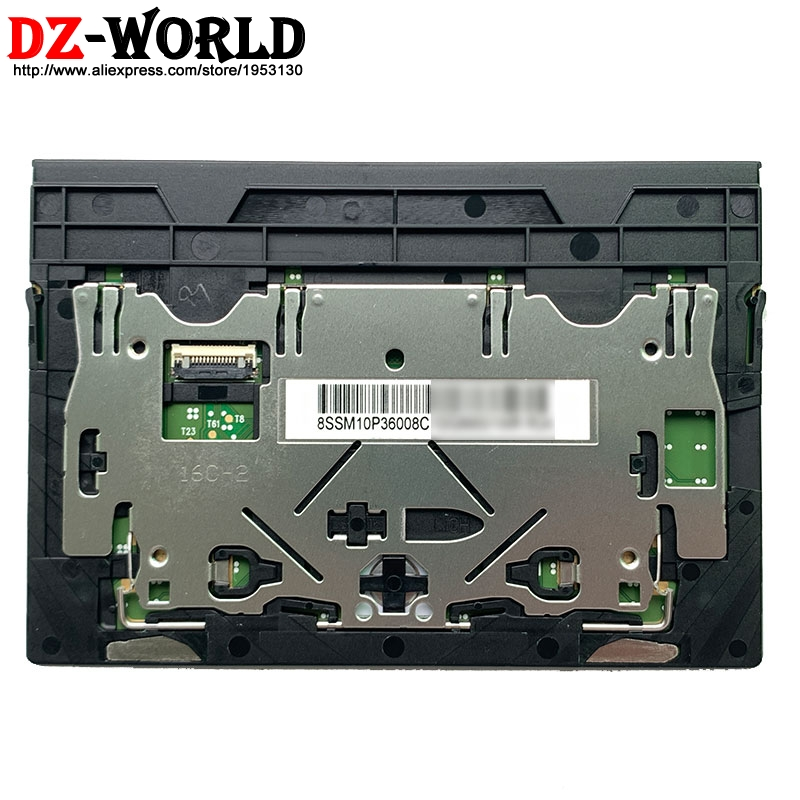 Novo original touchpad mouse pad clicker para lenovo thinkpad x1 extremo 1st p1 1st portátil 01lx660 01lx661 01lx662 sm10p36008