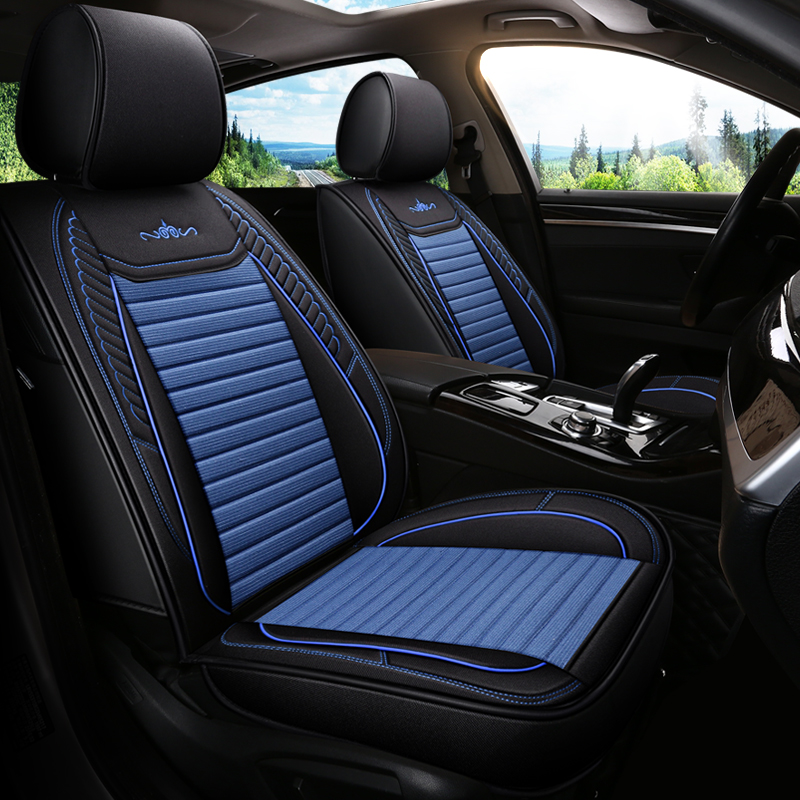TO FIT A FORD EDGE CAR i FULL SET SEAT COVERS DELUXE WATERPROOF BLACK