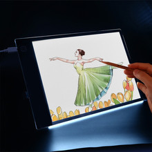 12inch LED Digital Graphic Tablet Artist Thin Art Stencil Drawing Board Light Box Tracing Writing Portable Electronic