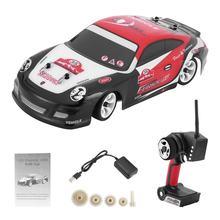 Wltoys k969 2.4g 1/28 carro de controle remoto 4wd deriva de alta velocidade carro de corrida fora de estrada veículo crianças mini brinquedo