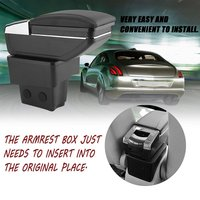 Vehicle Automotive Central Console Armrests Box Glove Phone Ashtray Storage Case With Cup Holder Suitable For KIA K2