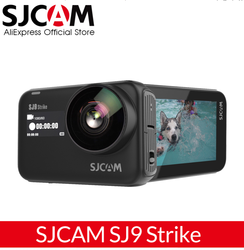SJCAM SJ9 Strike 4K 60FPS WiFi Remote Helmet Action Camera 2.33 IPS Touch Screen Gyrp EIS Living Stream Extreme Sports DV Camer