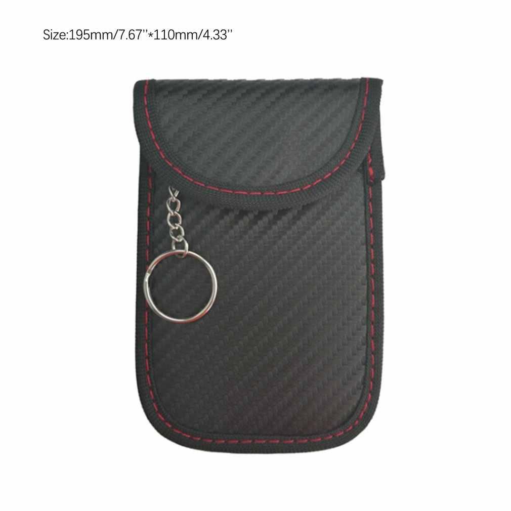Auto Schlüssel Signal Blocker Faraday Tasche Keyless Fob RFID Blocking Pouch Fall