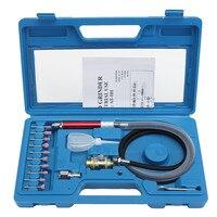 Mini kits de moedor de ar  ferramenta pneumática de alta velocidade 16 pçs/set para polimento  ferramenta de gravação