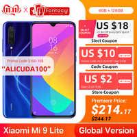 Version mondiale Xiao mi 9 Lite 6GB 128GB Smartphone 48MP Triple caméra Snapdragon 710 Octa Core 32MP avant 4030mAh NFC