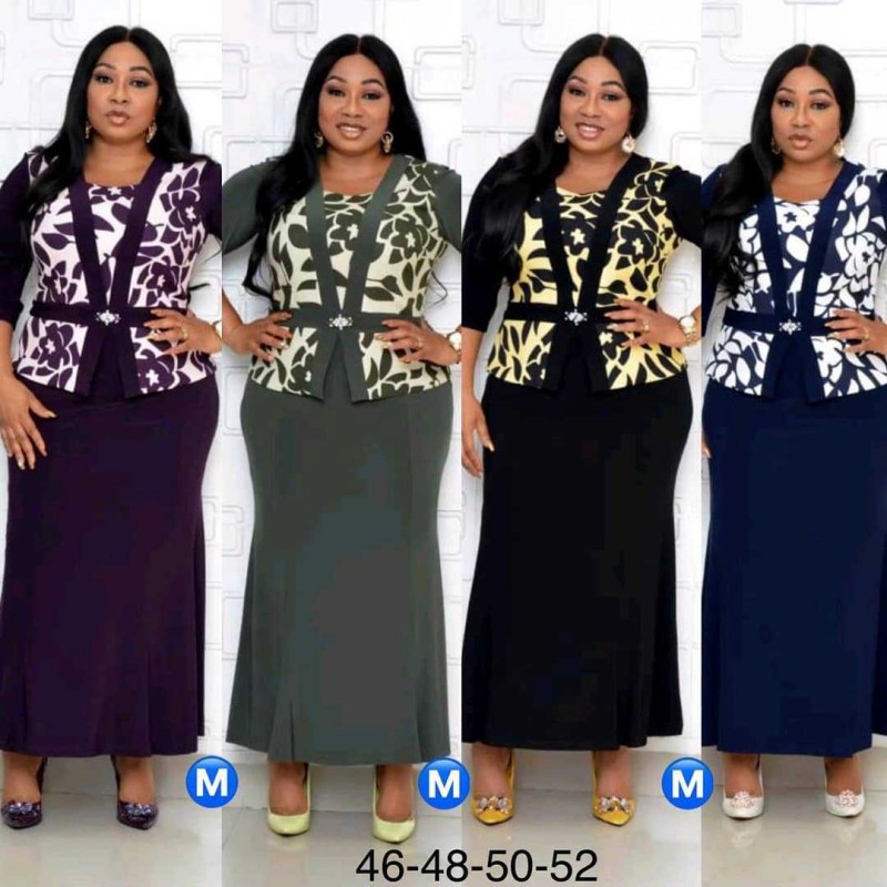 Christmas African Dresses For Women Dashiki Long Maxi Dress Bazin Riche African Clothing 3/4 Sleeve Dresses Africa Clothes