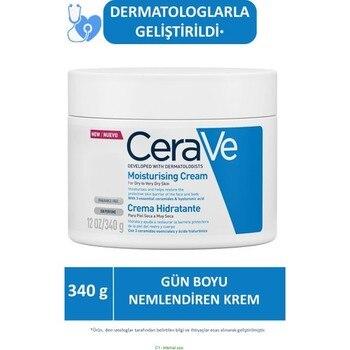 Cerave Nemlendici Cream Dry Skin Ceramide and Hyaluronic Acid İçerikli 340 g 1