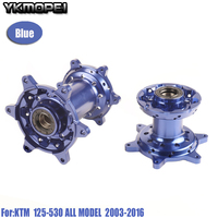 CNC Machined 36 Holes Front And Rear Wheel Hub For KTM EXC250 EXC525 SX125 SX250 SX F 450 350 EXC200 2003 2016