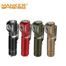 Manker e02 ii 420 lumens luminus sst20 lanterna led aaa/10440 bolso edc chaveiro tocha com cauda magnética & clipe reversível