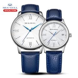 2019 gabbiano maschio e femmina paio di orologi meccanico automatico della vigilanza di lusso di marca 42 millimetri vigilanza di affari di modo 819.17.6084