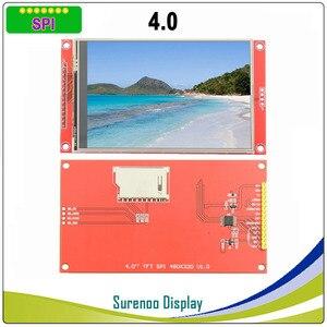 Image 1 - 4,0 дюймовый 480*320 MCU SPI серийный TFT ЖК модуль экран с сенсорной панелью со встроенным драйвером ST7796S