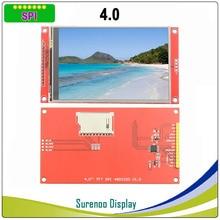 "4.0 ""polegada 480*320 Série MCU SPI TFT LCD Módulo de Display de Tela com Painel de Toque Build in motorista ST7796S"