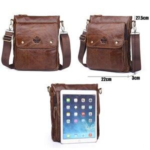 Image 5 - ZZNICK Genuine Cowhide Leather Men Bag Messenger Bags Handbags Flap Shoulder Bag 2020 Men Travel New Fashion Crossbody Bag