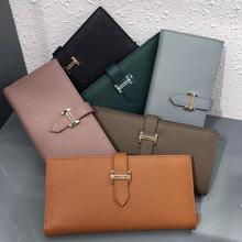 womens wallets and purses Genuine Leather Fashion Long money