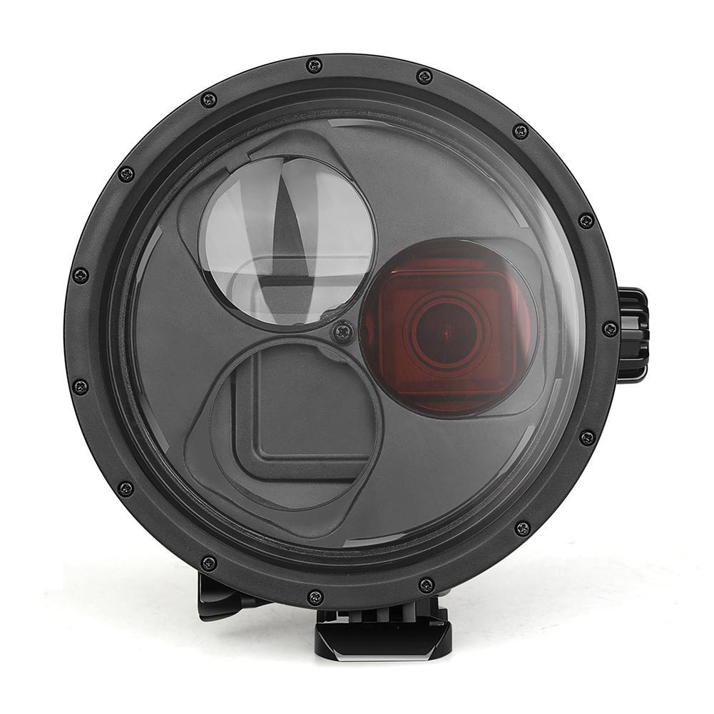 Funda protectora de buceo para GoPro Hero 7 6 5 12V DC caravana/RV lámpara LED blanco frío/blanco cálido techo de cristal LED luz de techo autocaravana/luz de domo de yate