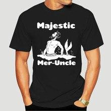 Navytee Majestic Mer-Oom, Meerman Grappige Marine, Arctic Beste Geschenken Tee T-shirt Voor Mannen En Women-5262A