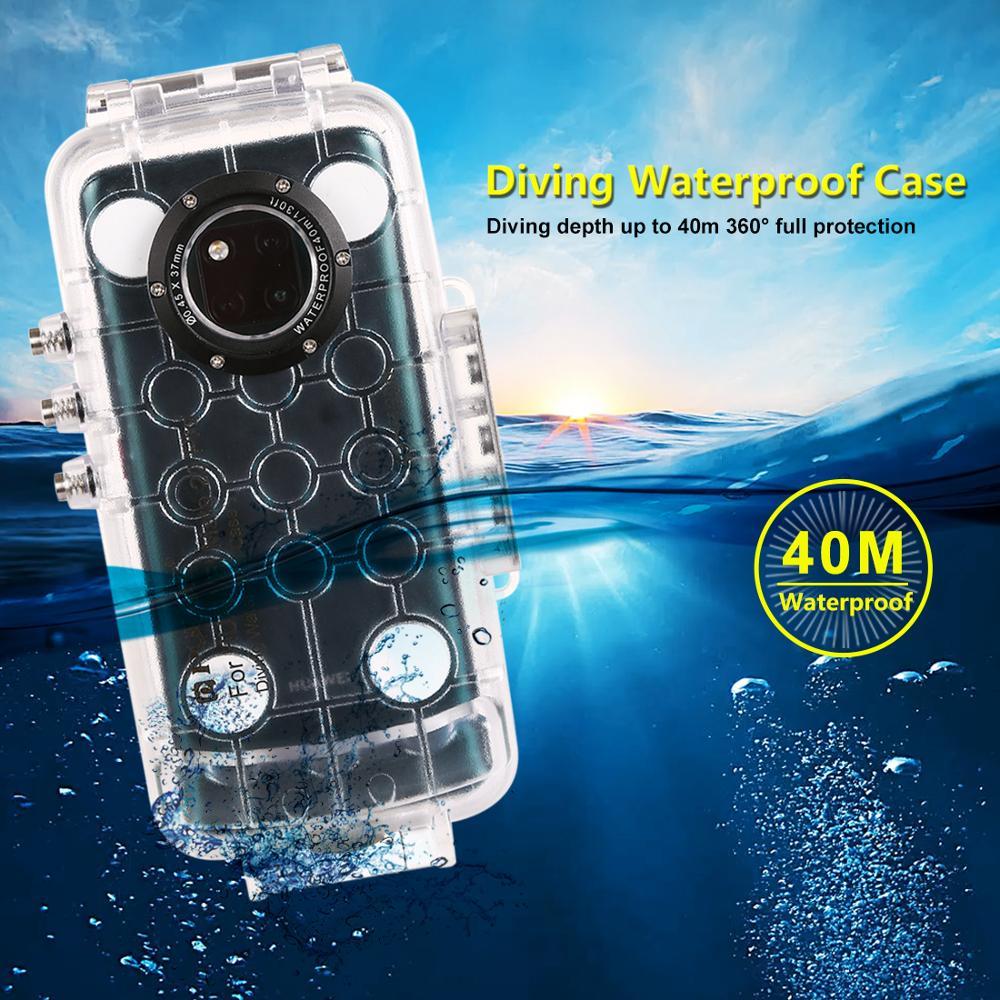 Wasserdicht fall Für Huawei P20/P20 Pro Abdeckung Huawei Mate 20 Pro Tauchen Unterwasser Surfen Schwimmen Schnorcheln Foto Video - 5