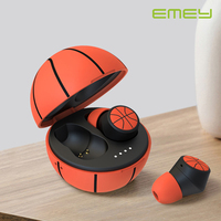 EMEY TWS Sport wireless earbuds waterproof bluetooth earphone for basketball funs