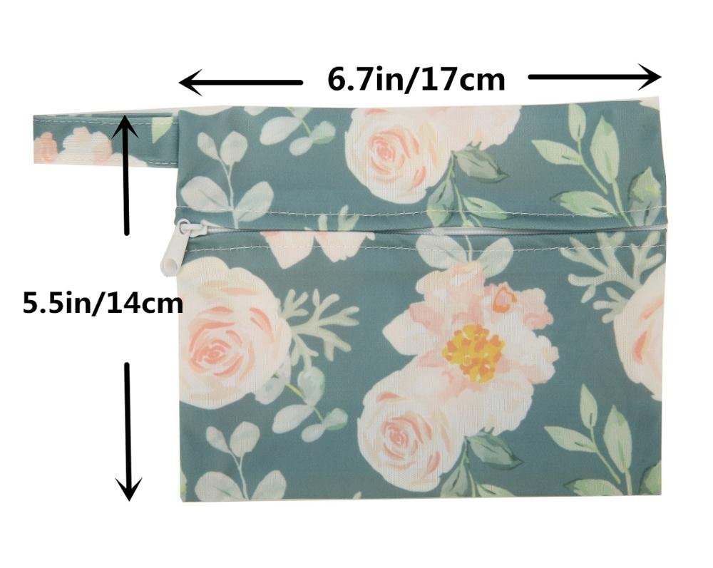 Sigzagor 1 Small Mini Wet Bag Reusable for Mama Cloth Sanitary Menstrual Maternity Pad Tampon [Sigzagor] 1 Small Mini Wet Bag Reusable for Mama Cloth Sanitary Menstrual Maternity Pad,Tampon,Cup Bib,Buyer PICK,35 Designs