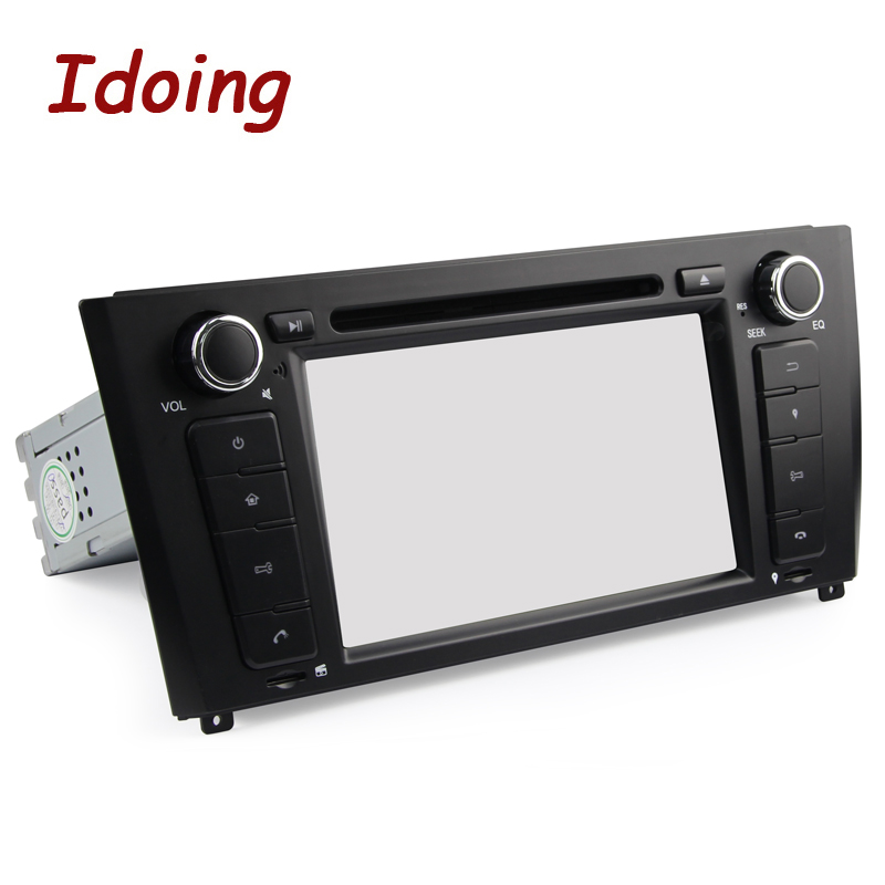 Idoing 2G Android7.1 1Din Steering Wheel For BMW E81/82/87/88 Quad Core Car Multimedia Player TV Fast Boot Built in 3G Dangle - 5