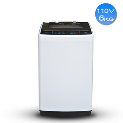Pralka 6KG wave top otwarcie w pełni automatyczny pralka morska 110 V/220 V pralka o dużej pojemności