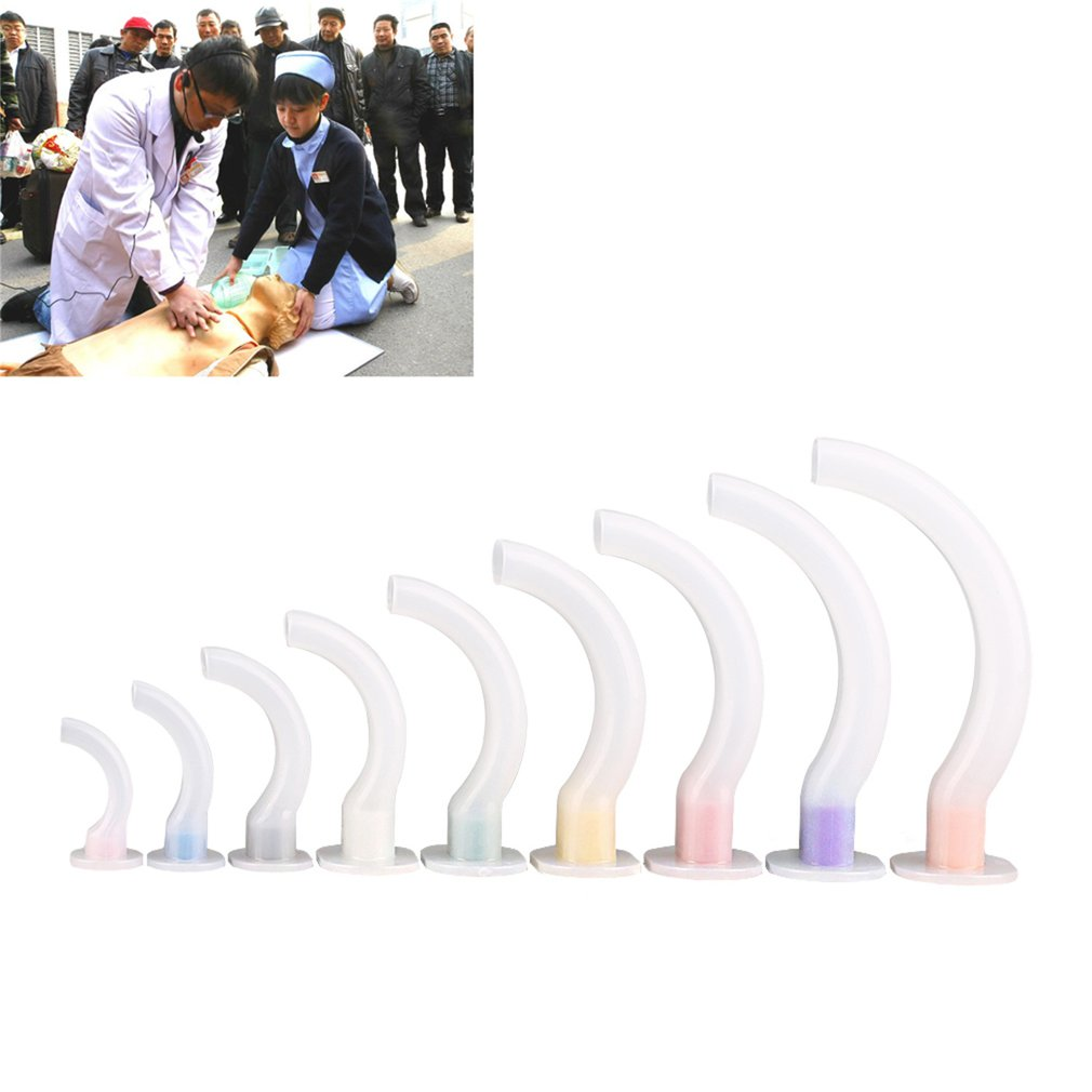 Oropharyngeal Airway For First Aid And Paramedics - Sizes1, 2,3 And 4 Smooth Edges For Comfort And Reduced Trauma