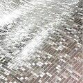 Wasserdicht 10m Wand Aufkleber Gold Glitter Spiegel Wirkung Aufkleber Wohnzimmer Vinyl