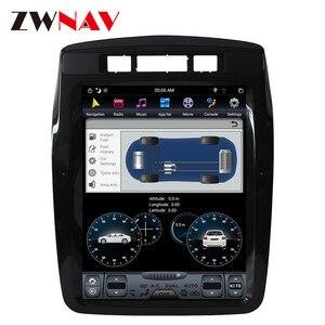 Вертикальный экран ZWNAV Tesla Style, Android 9,0, PX6, 4 Гб + 64 ГБ, встроенный Автомобильный видеорегистратор для Volkswagen Touareg 2011-2015, GPS-навигация