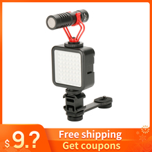 Для Osmo Mobile 3 аксессуары, крепление для микрофона, шарнирный светильник, адаптер, удлинитель для Zhiyun Smooth 4 DJI Osmo mobile 2