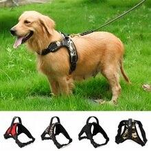 Nylon Heavy Duty Dog Pet Harness Collar Adjustable Padded Extra Big Large Medium Small Dog Harnesses