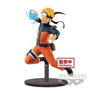 Image 2 - Tronzo Original Banpresto Vibration Stars Naruto Shippuden Naruto Sasuke Kakashi Gaara Battle Ver PVC Action Figure Model Toys