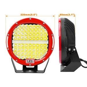 "Image 3 - CREK 9 ""378W Offroad LED Light Bar 4X4 SUV ATVไฟLEDทำงานเรือLEDค้นหาสำหรับ 4WD 4X4 Offroad SUV ATVเรือรถ"