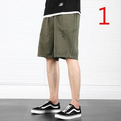 Summer Casual Shorts Men's Five Pants Pants Overalls Beach Pants
