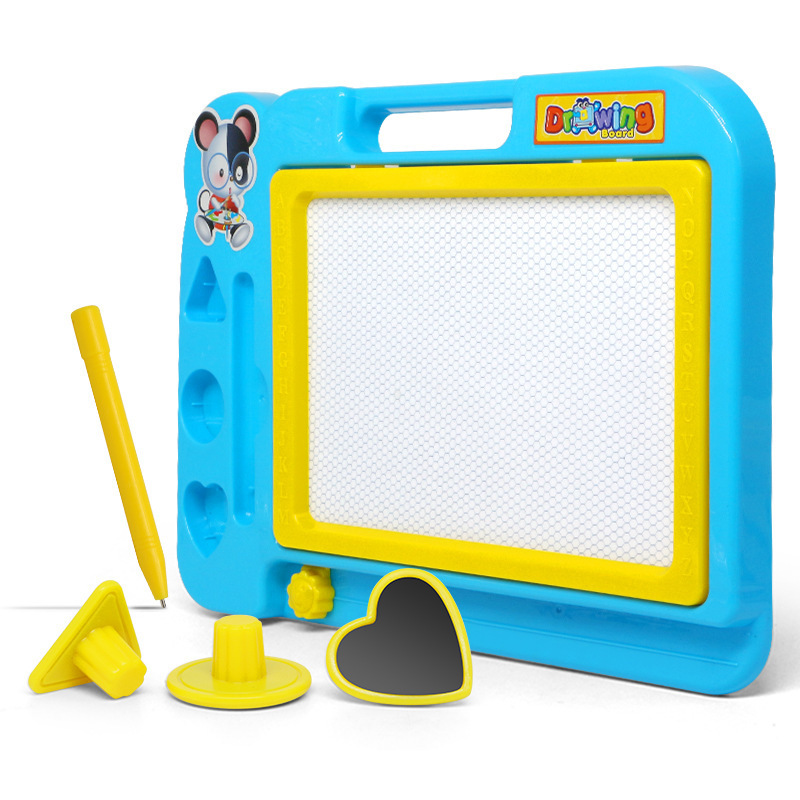 Bn Qiqu Toys Educational Color Medium Magnetic Plastic Tablet CHILDREN'S Graffiti Sketchpad Educational ENLIGHTEN Toy
