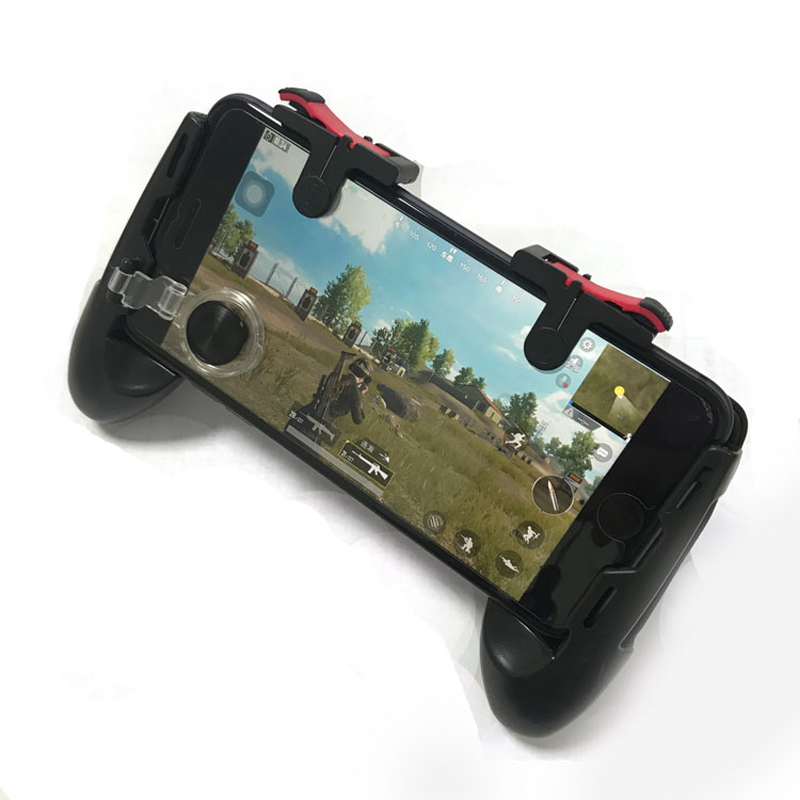 Image 2 - PUBG Moible Controller Gamepad Free Fire L1 R1 Triggers PUGB Mobile Game Pad Grip L1R1 Joystick for iPhone Android Phone-in Gamepads from Consumer Electronics