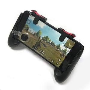Image 2 - PUBG contrôleur Mobile manette de jeu feu libre L1 R1 déclenche PUGB manette de jeu Mobile poignée L1R1 pour téléphone Android iPhone