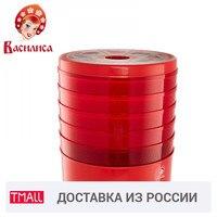 VASILISA CO3 520 czerwona suszarka elektryczna do owoców i warzyw 520W regulacja temperatury antypoślizgowe gumowe nóżki w Dehydratory od AGD na