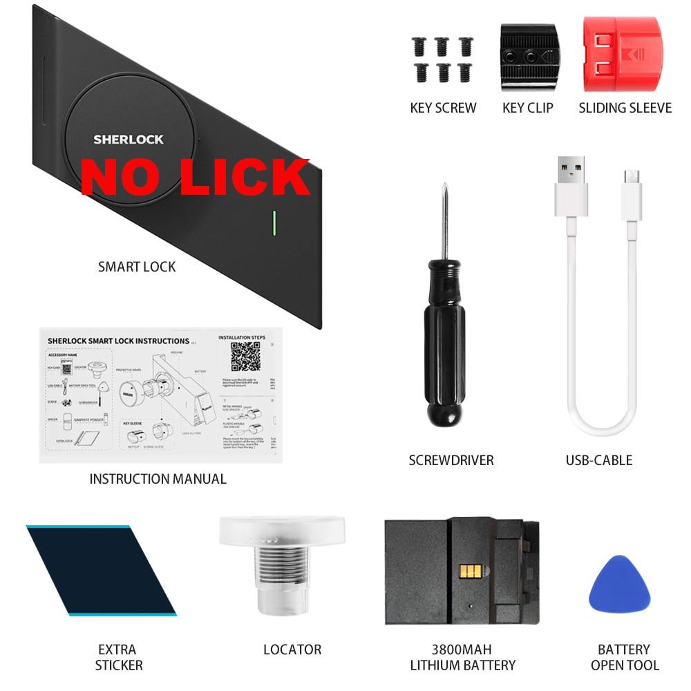 S2 Sherlock Sticker Smart Lock Replaceable Seamless Adhesive Lock Accessories Of Sherlock Smart Lock