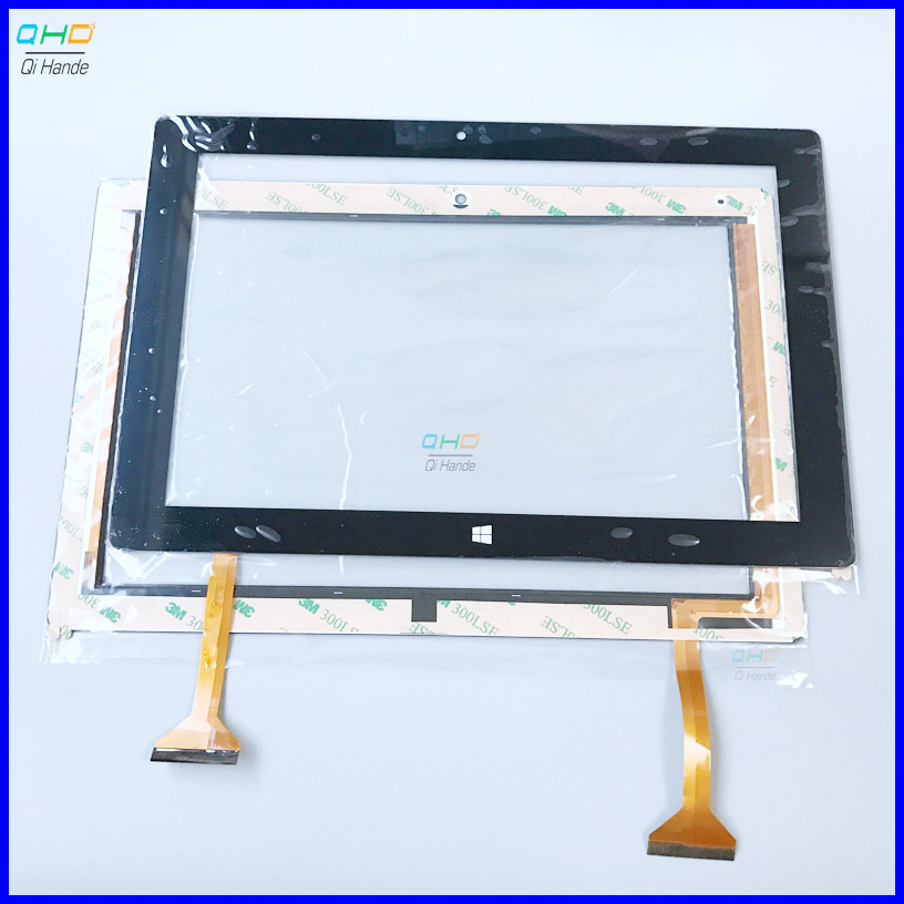 Black 10.1'' Inch Touch Screen,100% New For TrekStor Surftab Twin 10.1 ST10432-8 Touch Panel,Tablet PC Touch Panel Digitizer