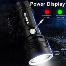 мультитул Портативный фонарик супер мощный светодиодный usb