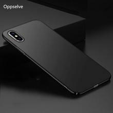 Oppselve fashion Ultra Slim Phone Case for ipnone 10 Luxury cover For iPhone X Hard PC Back Cover Coque Funda Pouch