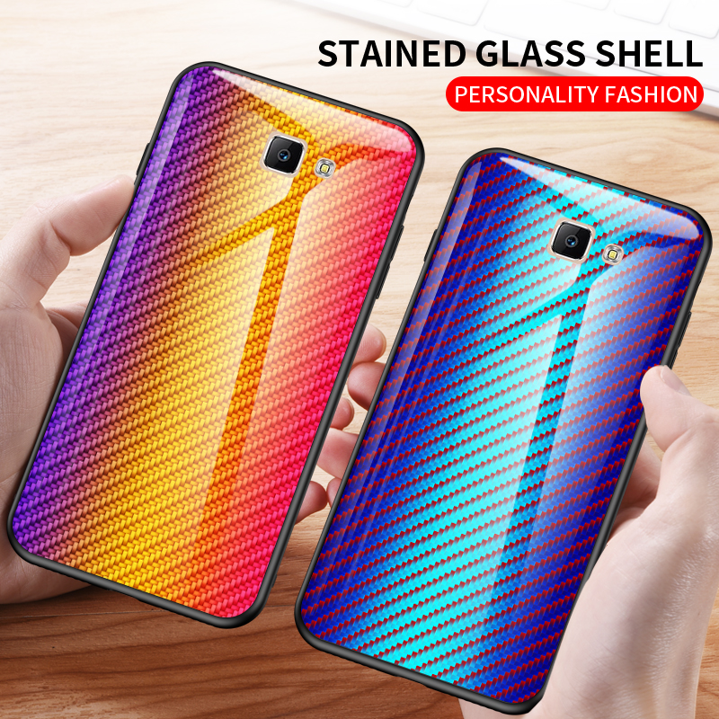 For <font><b>OnePlus</b></font> One Plus 7T 7 Pro 6T 6 <font><b>5T</b></font> 5 Fashion Colorful Carbon Tempered <font><b>Glass</b></font> Phone <font><b>case</b></font> Slim Shockproof Back Cover Shell image