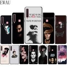 EWAU teen wolf stiles stilinski impreso caja del teléfono de silicona para Samsung A3 A5 A6 más A7 A8 A9 A10s 20s 30s 40s 50s 60 70 J6