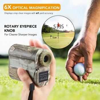 Monocular laser Distance Meter laser Rangefinder 600m Golf Rangefinder Hunting Rangefinder Telescope Speed Measure Tester