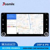 DSP 4G 2 din Android 9 Car Radio Multimedia For Toyota Land Cruiser 100 200 Prado 120 150 Rush Corolla Hiace Yaris HiluxGPS navi