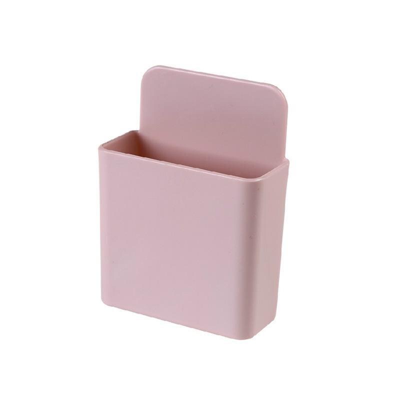 Коробка для хранения пульт дистанционного управления кондиционер чехол для хранения мобильный телефонный разъем Держатель подставка контейнер 1 шт. настенный смонтированный Органайзер - Цвет: 11 Small
