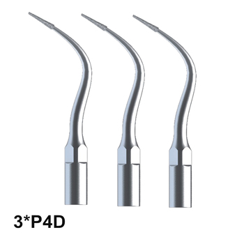 3Pcs P4D Dental Laboratory Equipment For EMS and Woodpecker Ultrasonic Scaler Handpiece Used For Preparing Good Endo Jaws